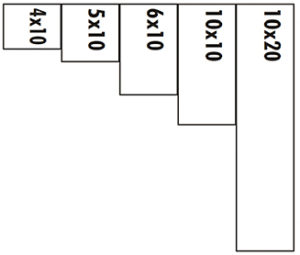 West-Batavia-Rentals-Sizes